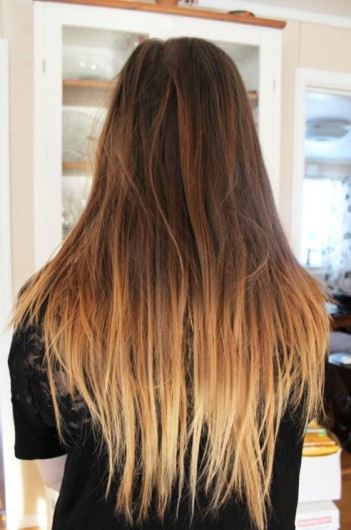 Brown-to-Light-Brown-Ombre-Hair