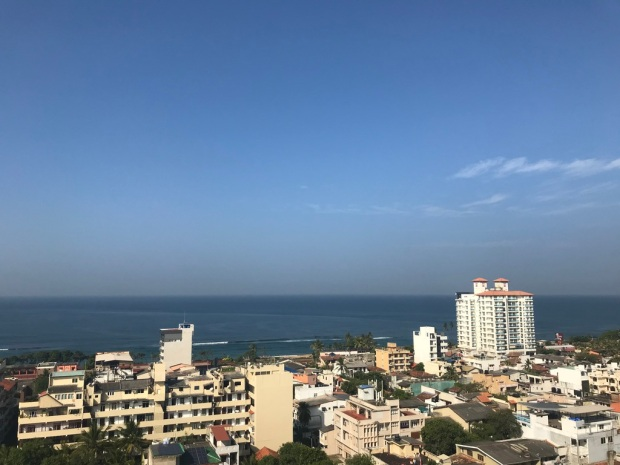 Colombo: View from Rented Apartment